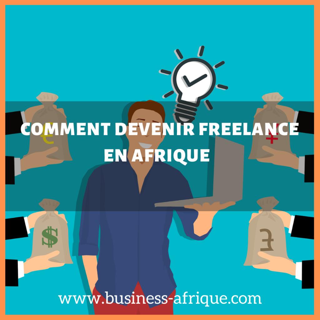 devenir freelance en Afrique