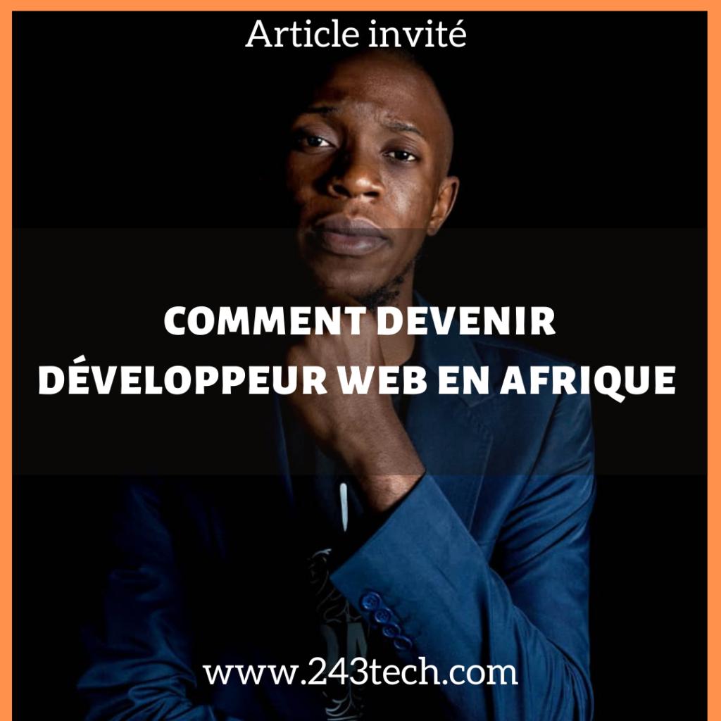 comment devenir développeur web en Afrique
